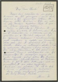 List Stanisława Kiałki z dnia 25 października 1968 roku