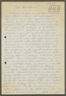 List Stanisława Kiałki z dnia 14 grudnia 1969 roku