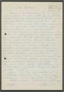 List Stanisława Kiałki z dnia 26 września 1970 roku
