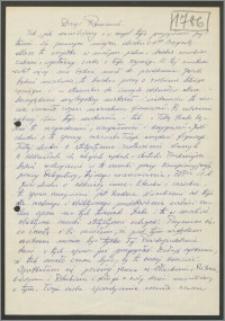 List Stanisława Kiałki z dnia 12 stycznia 1971 roku