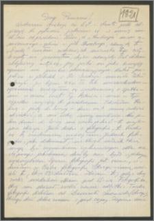 List Stanisława Kiałki z dnia 24 lutego 1971 roku