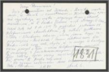 List Stanisława Kiałki z dnia 3 kwietnia 1971 roku