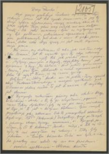 List Stanisława Kiałki z 3 września 1972 roku