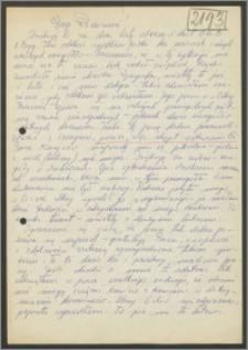 List Stanisława Kiałki z 20 lutego 1973 roku