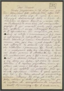 List Stanisława Kiałki z 6 stycznia 1974 roku