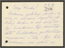 List Stanisława Kiałki z 12 grudnia 1974 roku