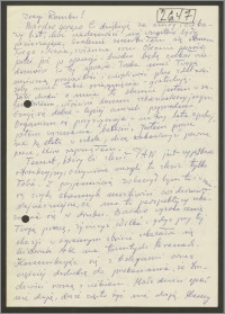 List Stanisława Kiałki z [kwietnia] 1977 roku