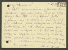 List Stanisława Kiałki z 15 czerwca 1977 roku