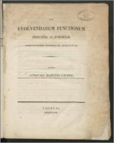 De evolvendarum functionum principiis ac formulis disquisitiones nonnullae analyticae