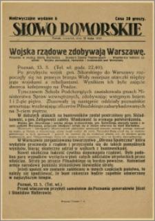 Słowo Pomorskie - Nadzwyczajne wydanie, 1926.05.13, Nr 6
