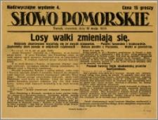 Słowo Pomorskie - Nadzwyczajne wydanie, 1926.05.13, Nr 4