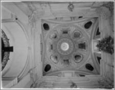 Kraków. Kościół pw. Bożego Ciała. Kaplica od strony południowej - sklepienie