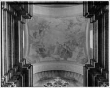 Kraków. Kościół trynitarzy/ bonifratrów św. Trójcy. Sklepienie prezbiterium