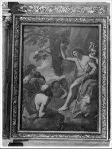 Kraków. Kościół pw. Św. Franciszka Salezego. Ołtarz boczny - fragment