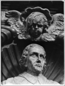 Kraków [Kościół pw. św. Piotra i Pawła – fragment nagrobka biskupa Andrzeja Trzebickiego]