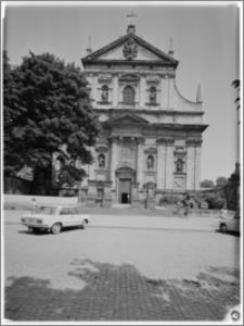 Kraków [Kościół pw. św. Piotra i Pawła – elewacja frontowa zachodnia]