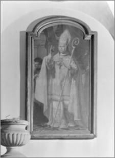 Kraków. Klasztor Franciszkanów. Portret bp Andrzeja Stanisława Załuskiego w Sali Włoskiej