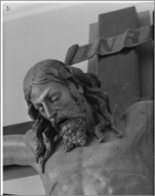 Kraków. Klasztor Franciszkanów. Fragment krucyfiksu