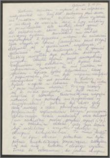 List Sabiny Korejwo z dnia 7 października 1971 roku