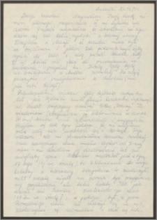 List Sabiny Korejwo z dnia 21 listopada 1971 roku
