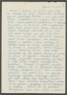 List Sabiny Korejwo z dnia 16 października 1972 roku