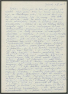 List Sabiny Korejwo z dnia 7 grudnia 1972 roku