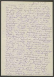 List Sabiny Korejwo z dnia 7 maja 1974 roku