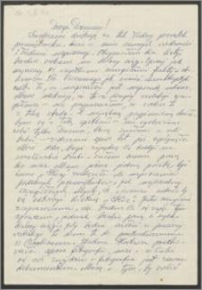 List Stanisława Kiałki z 31 października 1973 roku [do Danuty Szyksznian z d. Janiczak]