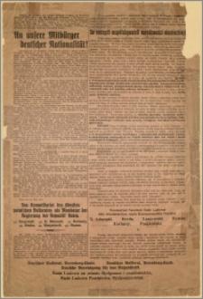 [Obwieszczenie] : [Inc.:] Do naszych współobywateli narodowości niemieckiej! [...] Posen, den 30. Juni 1919