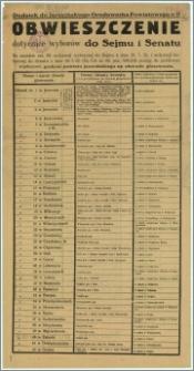 Obwieszczenie : Jarocin, dnia 8-go września 1930 r.
