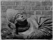 Wrocław. Archikatedra św. Jana Chrzciciela. Fragment nagrobka biskupa Jana Turzona
