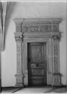 Wrocław. Ratusz. Fragment portalu do Sali Rady
