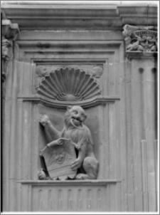 Wrocław. Dom Heinricha von Rybischa przy ul. Ofiar Oświęcimskich 1. Fragment fasady