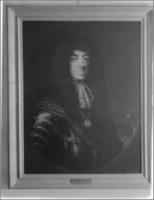 Warszawa. Wilanów. Muzeum Pałacu Jana III. Portret króla Jana Kazimierza Wazy autorstwa Daniela Schultza