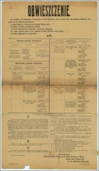 Obwieszczenie : Mława, dnia 17 września 1928 r.