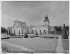 Warszawa. Wilanów. Muzeum Pałacu Jana III, widok od strony południowo-zachodniej