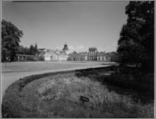 Warszawa. Wilanów. Muzeum Pałacu Jana III, widok od strony zachodniej