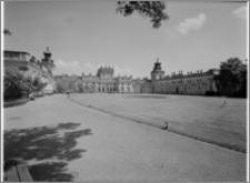 Warszawa. Wilanów. Muzeum Pałacu Jana III, widok ogólny od strony zachodniej