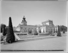 Warszawa. Wilanów. Muzeum Pałacu Jana III, widok od strony wschodniej