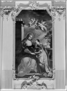 Warszawa. Kościół Wizytek pw. Opieki Św. Józefa Oblubieńca Niepokalanej Bogurodzicy Maryi. Nauczanie Madonny