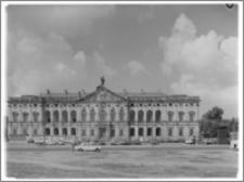 Warszawa. Pałac Krasińskich. Elewacja przednia