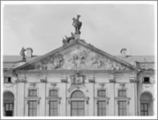 Warszawa. Pałac Krasińskich. Tympanon elewacji tylnej