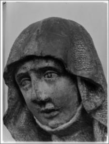 Warszawa. Muzeum Narodowe. Rzeźba gotycka-fragment