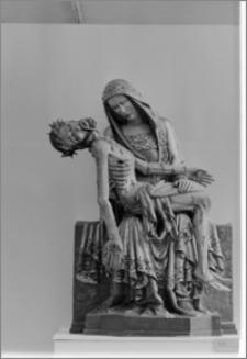 Warszawa. Muzeum Narodowe. Rzeźba gotycka-Pieta z Lubiąża
