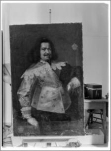 Warszawa. Muzeum Narodowe. Portret Oficera autorstwa Barłomieja Strobla z kolekcji Potockich z Jabłonny