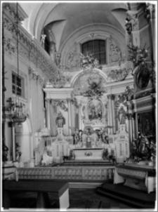 Warszawa. Kościół Seminaryjny pw. Wniebowzięcia Najświętszej Maryi Panny i Św. Józefa Oblubieńca - ołtarz główny