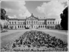 Warszawa. Pałac Krasińskich. Widok od strony ogrodu