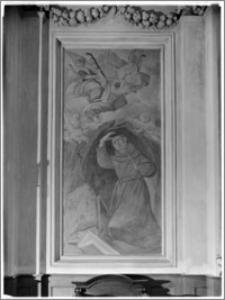 Warszawa. Kościół Bernardynów pw. Św. Antoniego (Padewskiego) z Padwy. Malowidło w nawie głównej
