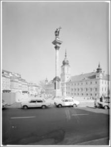 Warszawa. Plac Zamkowy. Kolumna Zygmunta