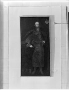 """Warszawa. Muzeum Narodowe. Wystawa pt. """"Portret Polski XVII i XVIII wiek"""". Portret Zbigniewa Czarneckiego"""